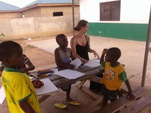 Mission d'enseignement en afrique avec Globalong