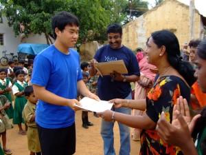 echange culturel en inde globalong