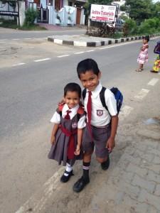 Globalong élèves enfants école mission d'enseignement