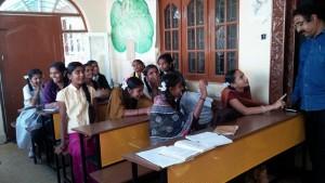 salle de classe en inde globalong