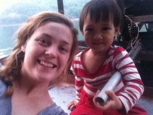 Samira au Vietnam