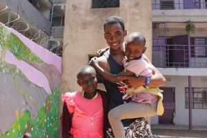 Bénévolat de Nicolas au Kenya avec Globalong