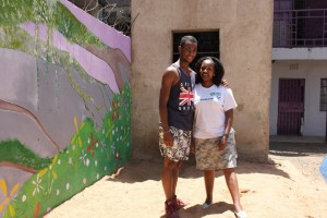 Mision au Kenya avec des enfants et Globalong