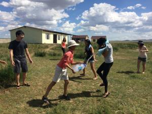 Camp d'été en Mongolie