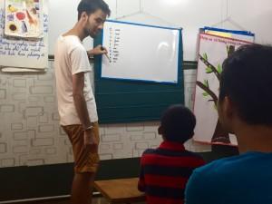 Enseigner l'anglais avec Globalong misison de bénévolat Vietnam