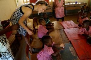 globalong togo bénévolat enseignement enfants