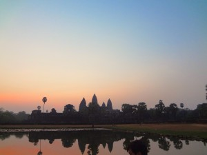 Temple Angkor wat Cambodge Globalong