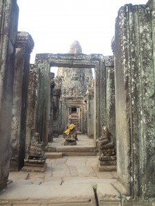 temple Bayon Cambodge Globalong