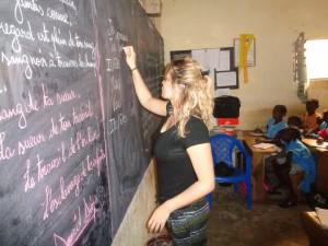 Enseignememnt au Sénégal avec Globalong