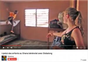 Danser avec les ghanéens et Globalong