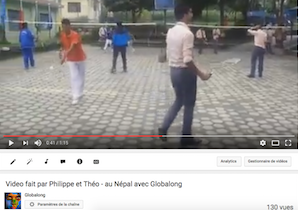 Programme d'enseignement sportif au Népal - Globalong