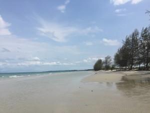 plage du Cambodge Globalong