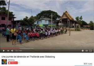 Globalong mission de bénévolat en thaïlande