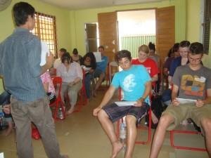 Globalong mission de bénévolat au cambodge
