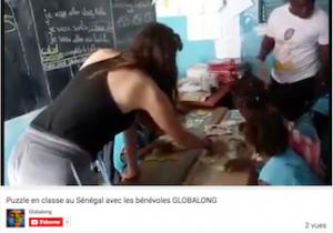 Puzzle école sénégal Globalong