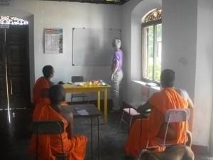 classe d'anglais au Sri Lanka Globalong