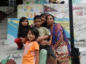 Bénévolat international au Népal en famille avec Globalong