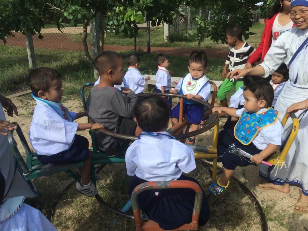 Mission de bénévolat avec les enfants -Globalong