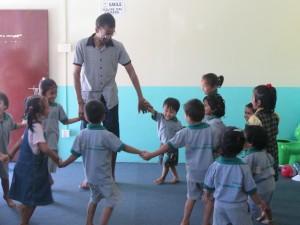 Bénévolat international au Népal - Enseignement sportif