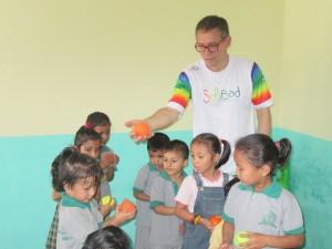Bénévolat sportif avec GlobAlong - Asie