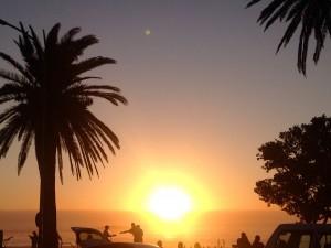 Coucher de soleil en Afrique du Sud - GlobAlong