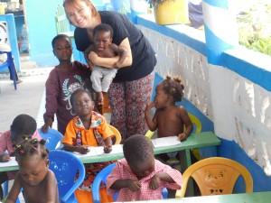 Audrey, bénévole au Togo