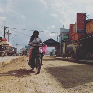 balade à moto au cambodge - GlobAlong