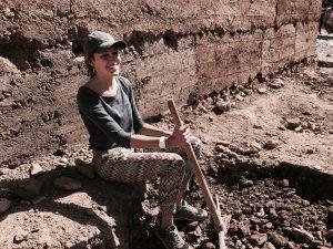 volontaire en action sur le terrain - GlobAlong
