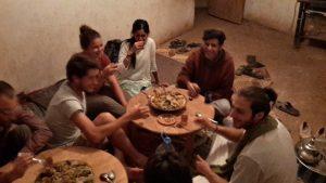 repas entre bénévoles - GlobAlong