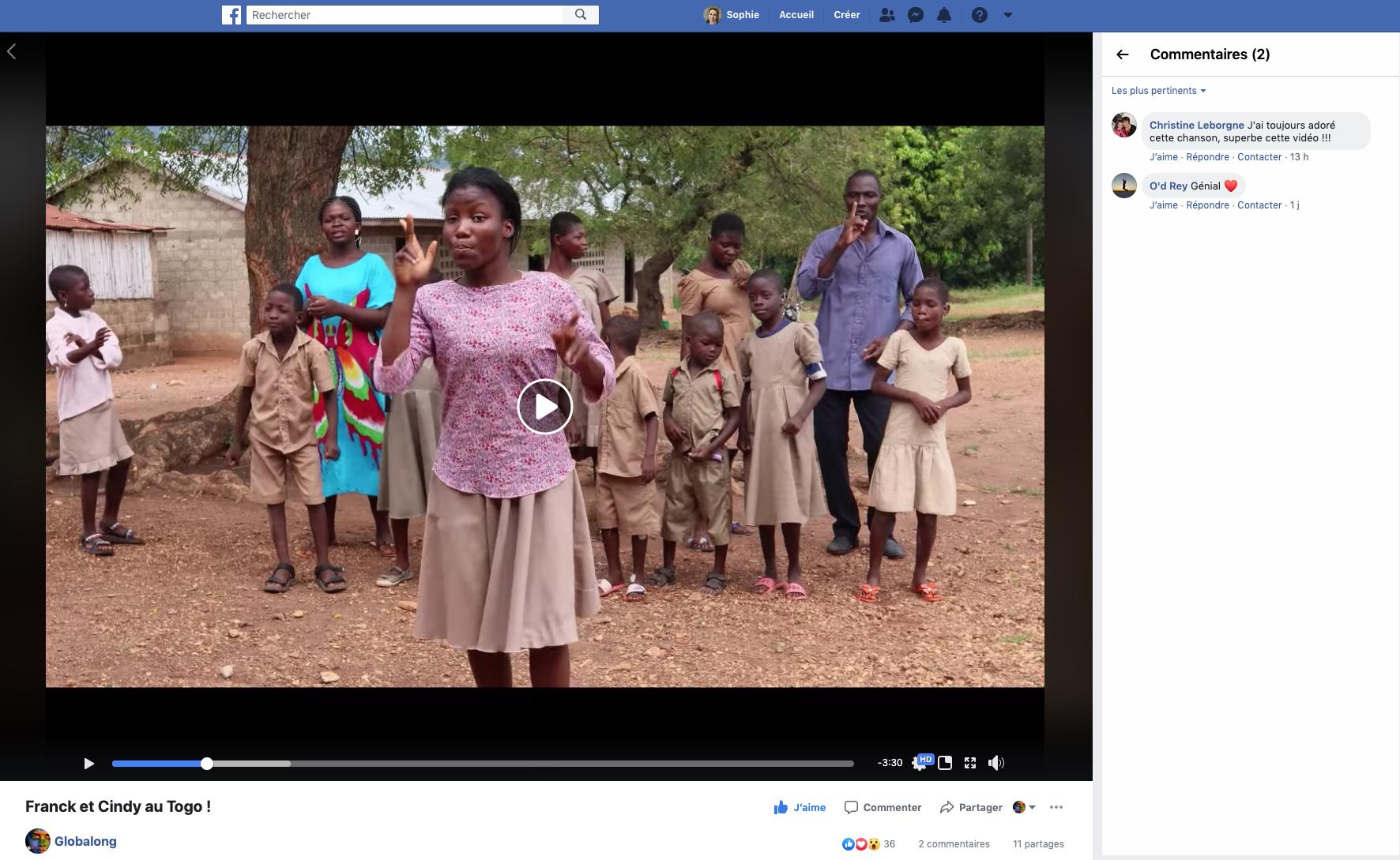 Le Togo en musique avec Globalong